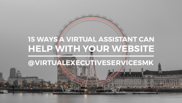 15 ways in which a VA can help you with your website