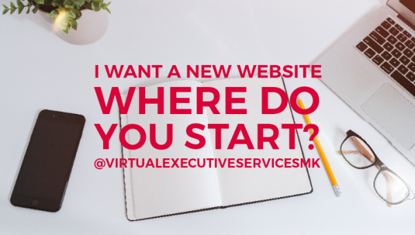 I want a new website - where do you start?